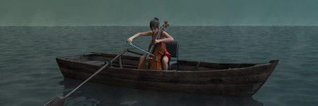 צ'לנית, סירה, מים, ים