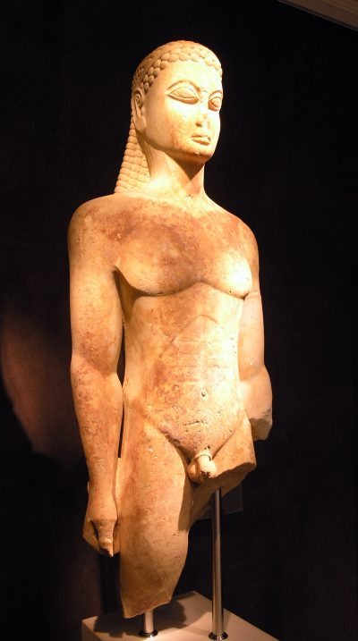 קורוס, נער, יוון, פסל