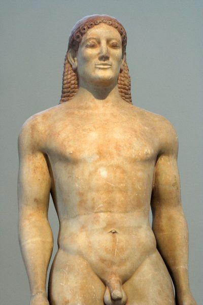 קורוס, Avyasos, נער, יוון, פסל