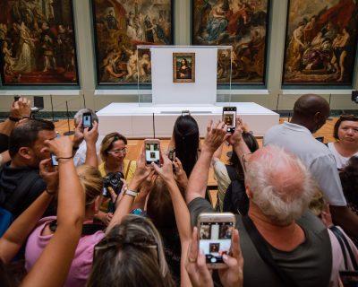 מונה ליזה, מוזיאון, לובר, סלולרי, צילום