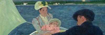 מארי קאסאט, שיט בסירה