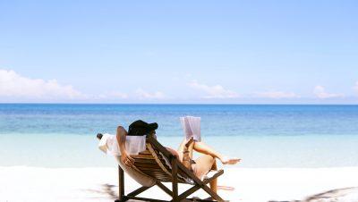 חוף הים, קריאה, כיסא נוח, שלווה, ים, שמש