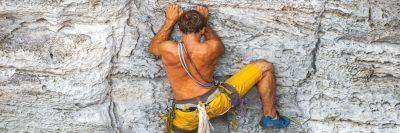 מטפס, סלע, חבלים
