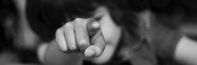 ילד, הצבעה, אצבע
