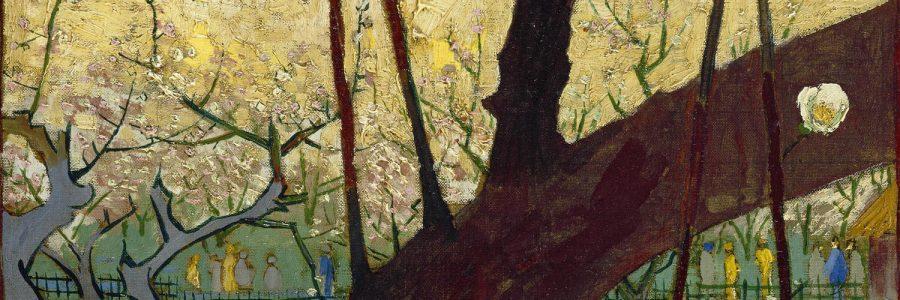 עץ שזיף בפריחה בעקבות הירושיגה, וינסנט ואן גוך