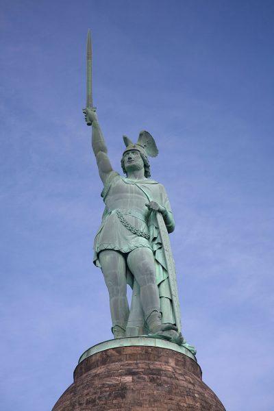 אנדרטת הרמן, לאומיות, גרמניה