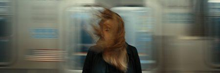 בחורה, שיער, רכבת תחתית, עבודה