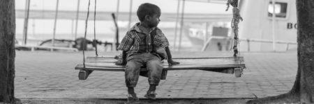 ילד, נדנדה, סירה, נמל